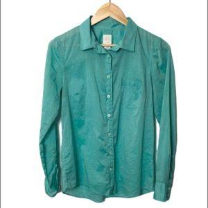 J. Crew The boy shirt button down shirt top